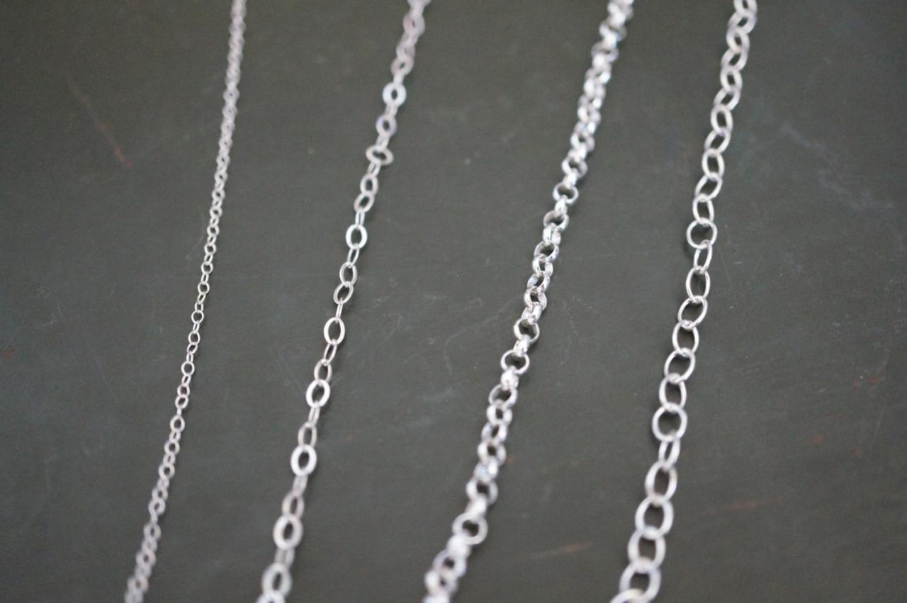 Choose your chain, Upgrade your chain, Sterling silver chain, Necklace, jewelry